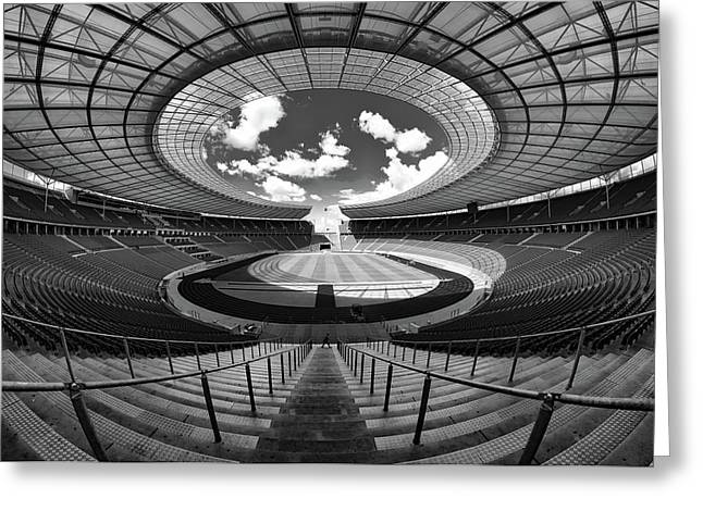Berlin's Olympic Stadium Greeting Card by 3093594