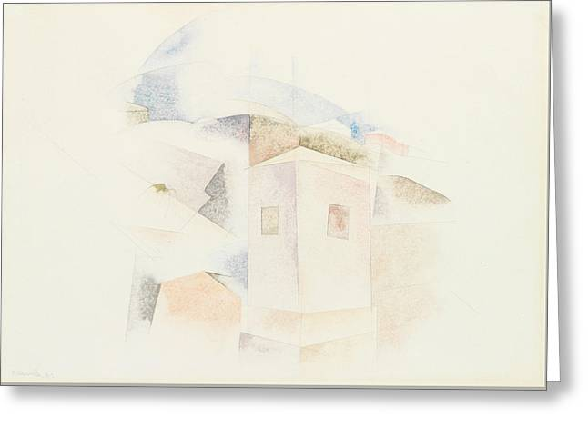 Bermuda No. 4 Greeting Card by Charles Demuth