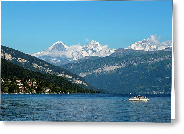 Bernese Oberland Greeting Card by Andy Myatt