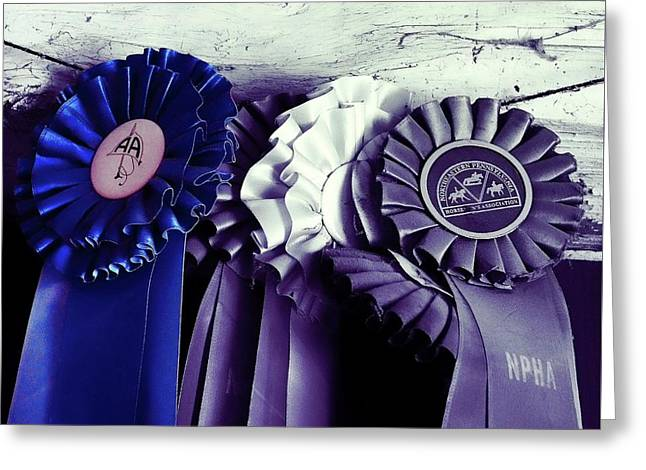 Best In Show Blue Greeting Card by JAMART Photography