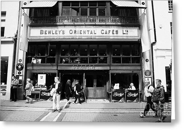 Bewleys Oriental Cafe In Grafton Street In Dublin Ireland Greeting Card
