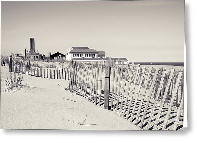 Greeting Card featuring the photograph Beyond The Dunes by Colleen Kammerer