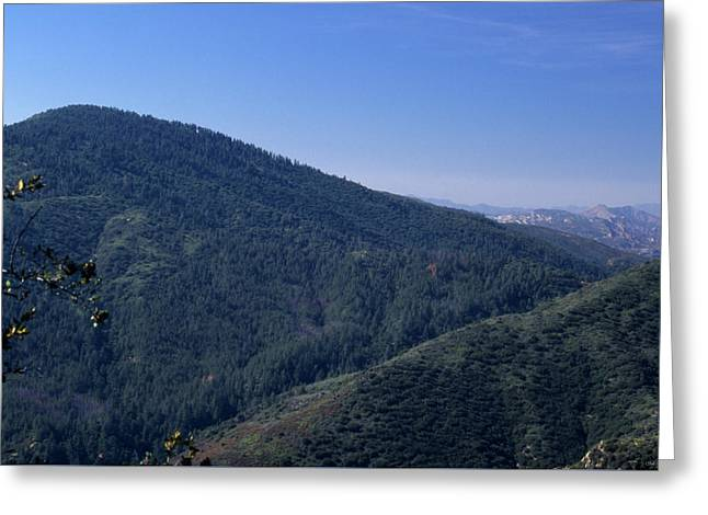 Big Pine Mountain Greeting Card