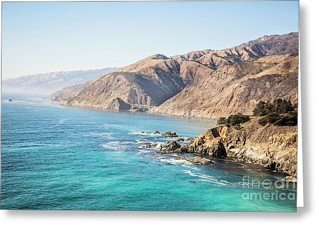 Big Sur Coast Greeting Card by Scott Pellegrin