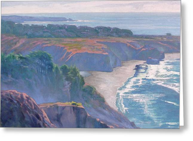 Big Sur Coast Greeting Card by Sharon Weaver