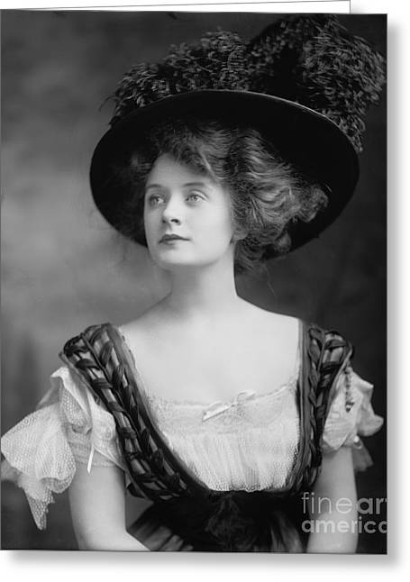 Billie Burke Greeting Card by Celestial Images