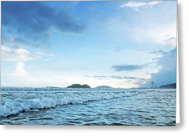 Binh Hai Beach, Quang Ngai Greeting Card