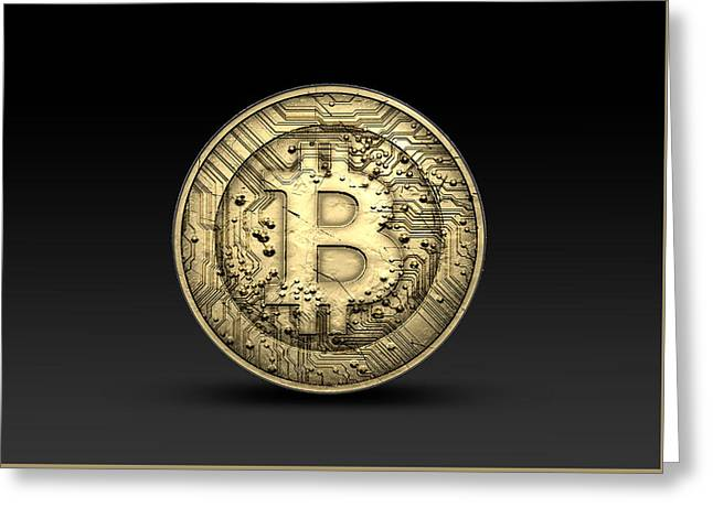 Bitcoin Physical Greeting Card