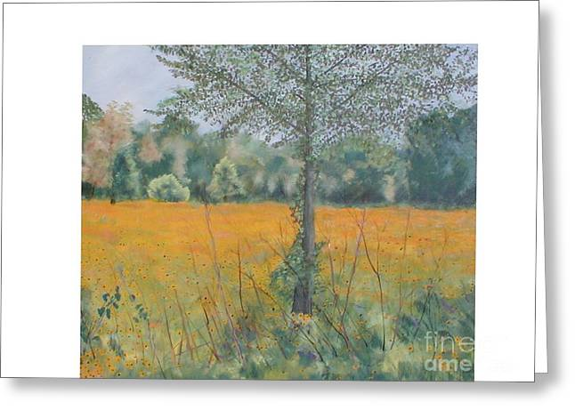 Black Eyed Susans Greeting Card by Hal Newhouser