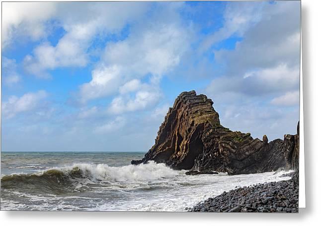 Blackchurch Rock - England Greeting Card by Joana Kruse