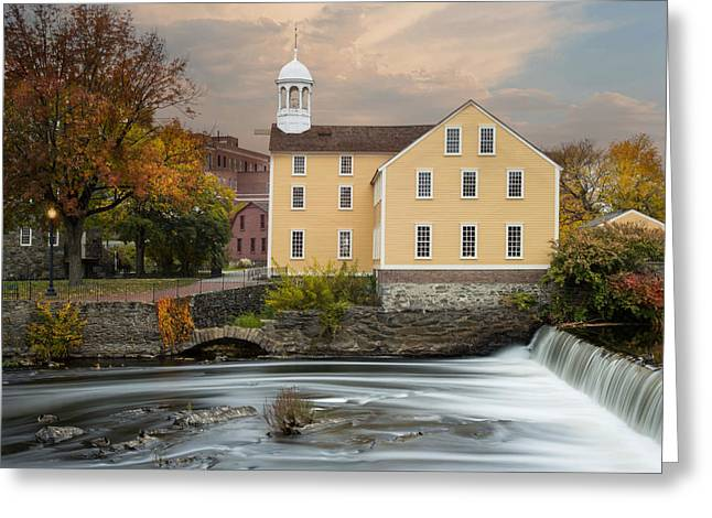 Blackstone River Mill Greeting Card
