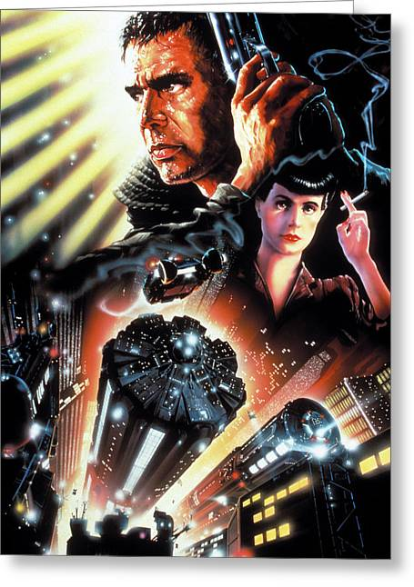 Blade Runner 1982 Greeting Card by Unknown