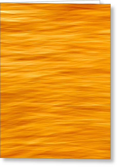 Bleeding Orange Greeting Card
