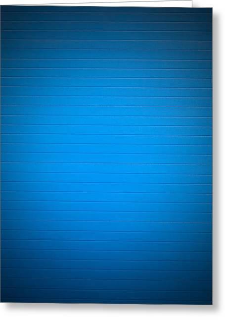 Blue Background Greeting Card by Boyan Dimitrov