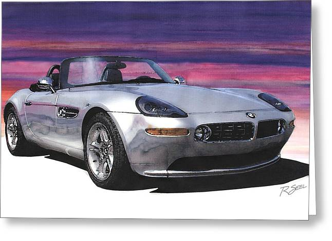 Bmw Z8 Greeting Card