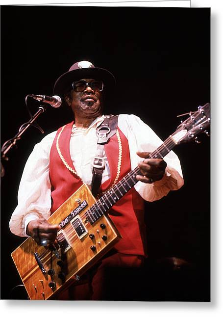 Bo Diddley Greeting Card