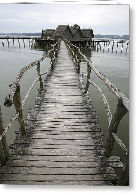 Bodensee Walkway Greeting Card