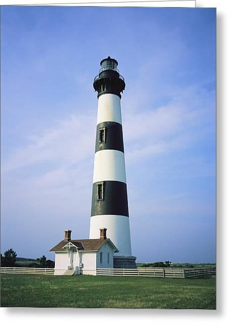 Bodie Island Lighthouse, Part Greeting Card by Vlad Kharitonov