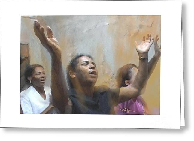 Body And Soul Greeting Card by Bob Salo
