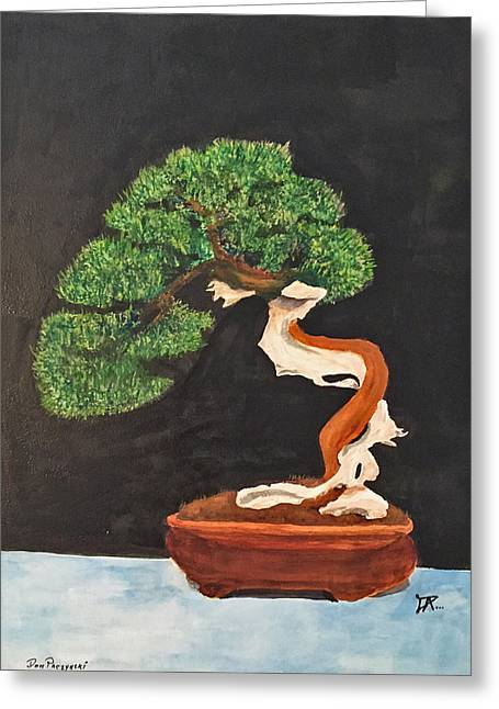 Bonsai-1 Greeting Card