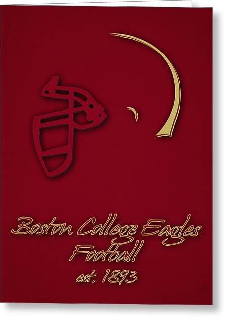 Boston College Eagles Greeting Card by Joe Hamilton