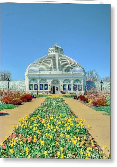 Botanical Gardens Greeting Card by Kathleen Struckle
