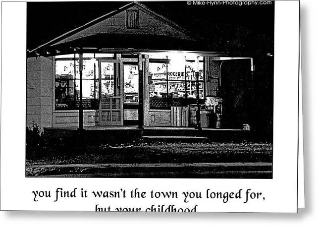 Boyhood Home Greeting Card