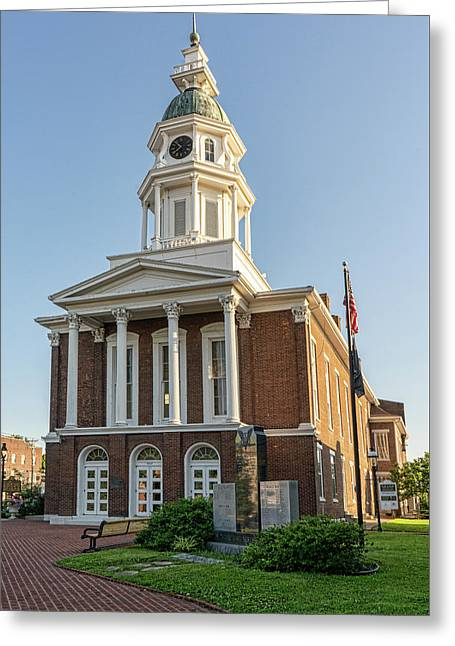 My old kentucky home greeting cards fine art america danville kentucky courthouse greeting card m4hsunfo