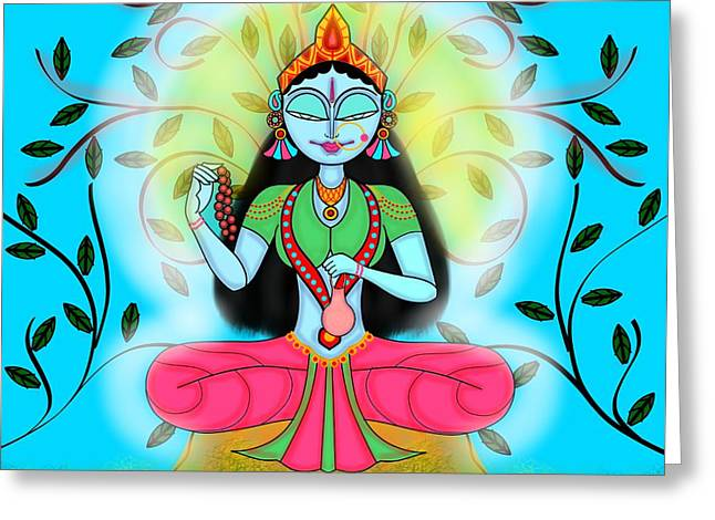 Brahmacharini Greeting Card