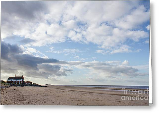 Brancaster Beach Greeting Card