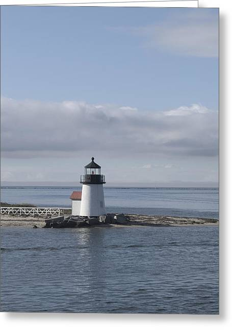 Brant Point - Nantucket Greeting Card by Henry Krauzyk