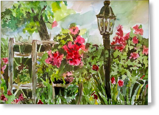 Brazos Gardens Greeting Card