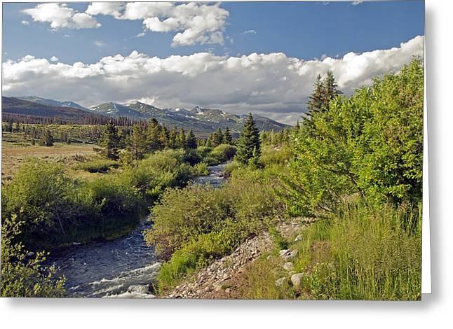 James Steele Greeting Cards - Breckenridge Colorado Greeting Card by James Steele