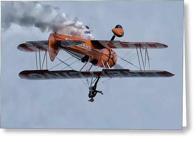 Breitling Wing Walker Greeting Card