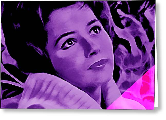 Brenda Lee Collection Greeting Card by Marvin Blaine