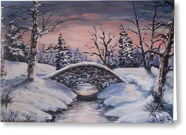 Bridge Of Solitude Greeting Card