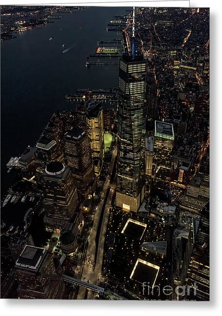 Brookfield Place In New York City - World Financial Center Greeting Card