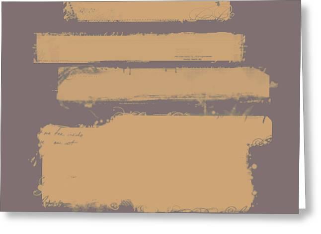 Brown On Brown Greeting Card