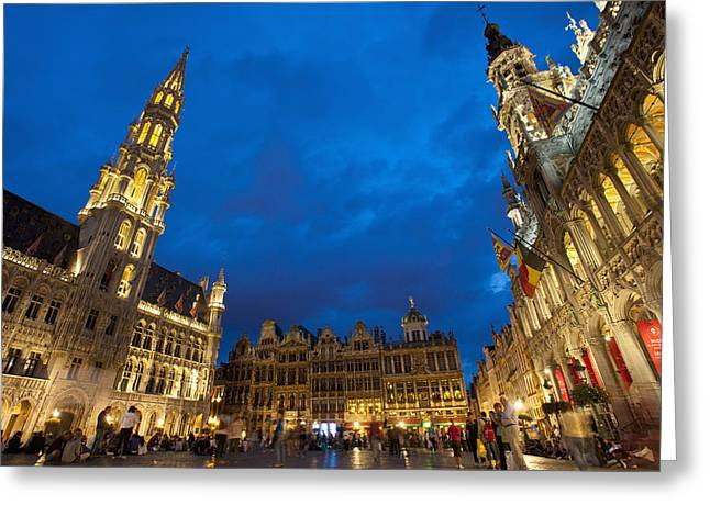 Brussels, Belgium Greeting Card by Axiom Photographic
