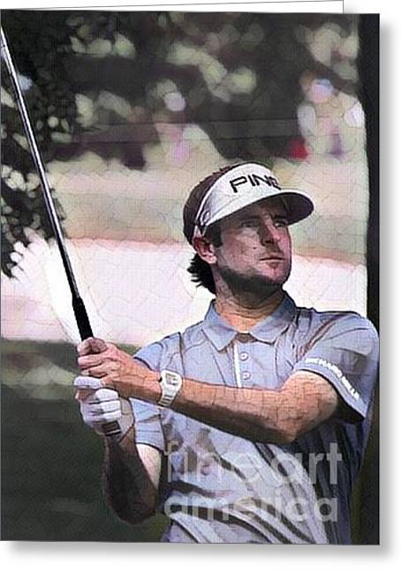 Bubba Watson  Greeting Card