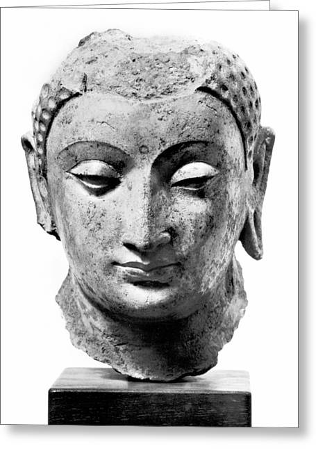 Buddha, 4th-7th Century Greeting Card by Granger