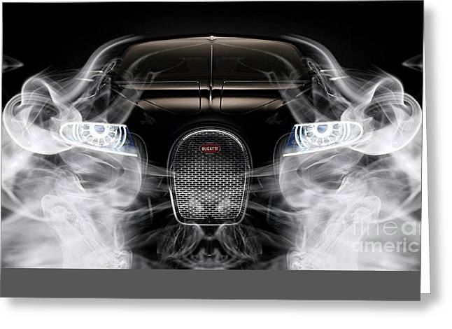 Bugatti Collection Greeting Card