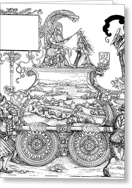 March Drawings Greeting Cards - Burgkmair - Maximilian Greeting Card by Granger