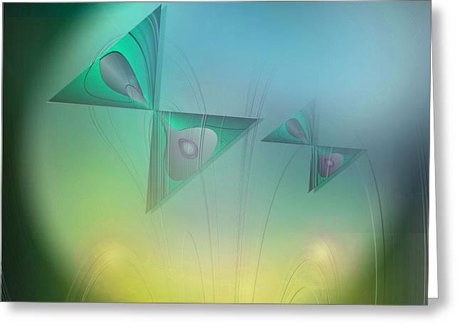 Butterflies 4 Greeting Card by Iris Gelbart