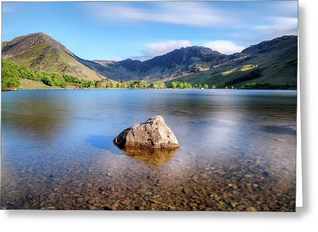 Buttermere - Lake District Greeting Card by Joana Kruse