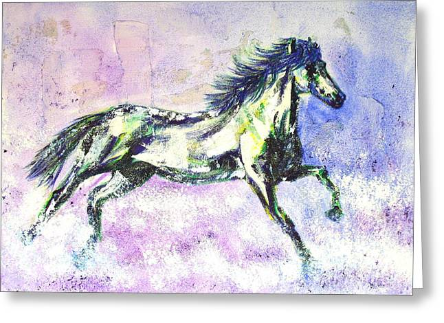 Caballo De Vida Greeting Card