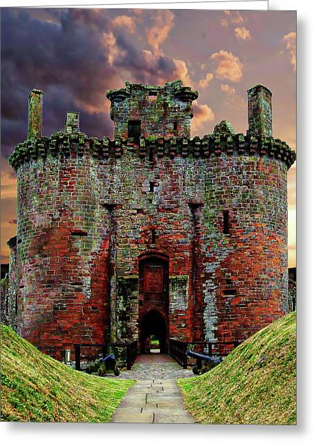 Caerlaverock Castle Greeting Card