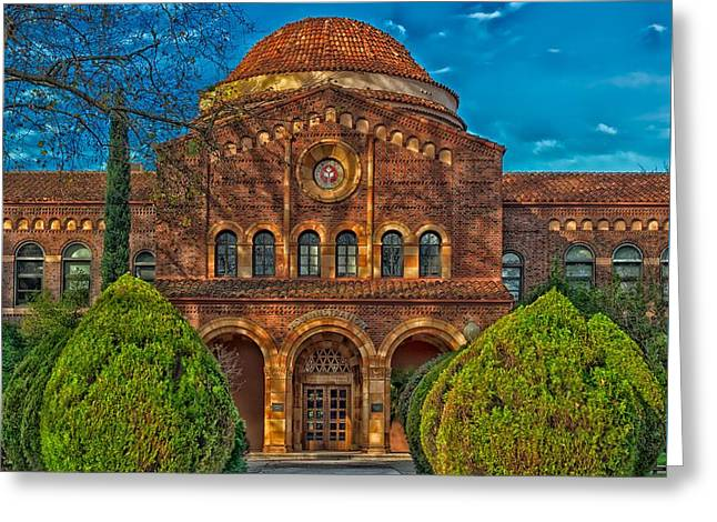 Cal State University Chico Greeting Card