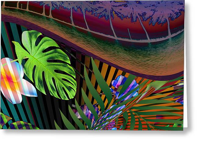 California Time Wave Greeting Card by Kenny Rego
