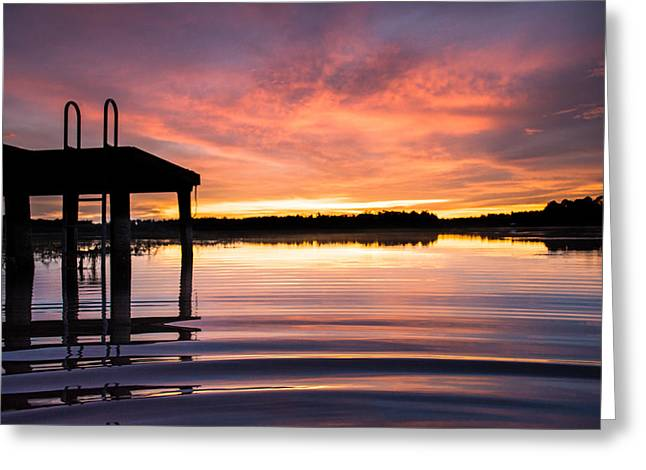 Calm Reflections Greeting Card by Parker Cunningham